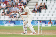 Alastair Cook of England is caught behind during the 3rd International Test Match 2018 match between England and India at Trent Bridge, West Bridgford, United Kingdon on 21 August 2018.