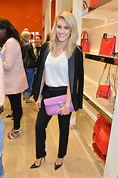 ASHLEY ROBERTS at the launch the Folli Follie Flagship store at 493 Oxford Street, London on 28th May 2015.