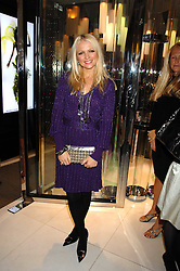 HANNAH SANDLING at a party to launch jeweller Boodles new store at 178 New Bond Street, London W1 on 26th September 2007.<br />