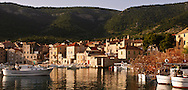 The charming fishing village of Komiza, Vis Island.