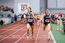 ECAC/IC4A Track and Field Indoor Championships<br /> Mile Run, Jocelyn Chau, Yale, Mia Nahom, UConn