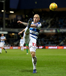 Queens Park Rangers' Toni Leistner in action during the Sky Bet Championship match at Loftus Road, London.