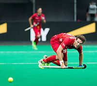 ANTWERP -   Felix Denayer from Belgium  during the final Australia vs Belgium (1-0). WSP COPYRIGHT KOEN SUYK