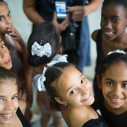 Havana, Cuba for children's ballet class.<br />