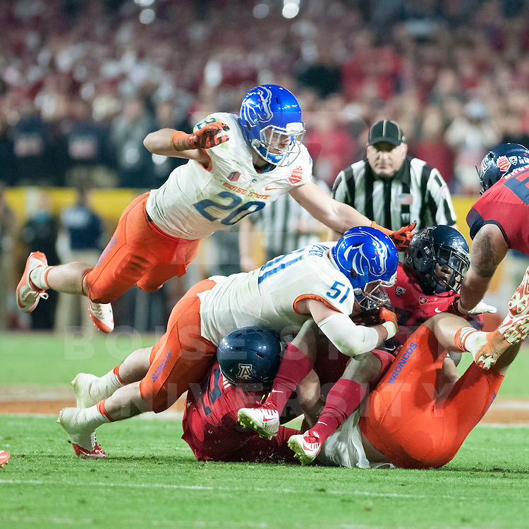 VIZIO Fiesta Bowl, University of Phoenix Stadium, Boise State vs Arizona, John Kelly photo