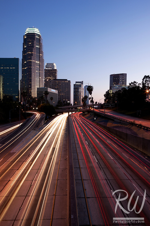 110 Harbor Freeway, Downtown Los Angeles, California