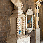 Monuments in Church, Old City, Damascus