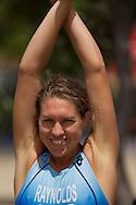 Matilda RAYNOLDS 01:06:05. Urban Geelong ITU Sprint Triathlon Premium Oceania Cup. 2012 Geelong Multi Sport Festival. Eastern Beach, Geelong, Victoria, Australia. 12/02/2012. Photo By Lucas Wroe
