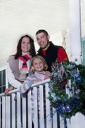 Family portrait of U.S. Army National Guard Specialist Kristopher Gill, with wife Alisia and daughter Raquel at their home in Smithsburg, Maryland. Photos by Johnny Bivera