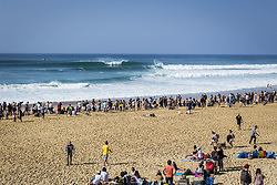 October 12, 2017 - line up  before during round Two at Quiksilver Pro France 2017, Hossegor, France..Quiksilver Pro France 2017, Landes, France - 12 Oct 2017 (Credit Image: © WSL via ZUMA Press)