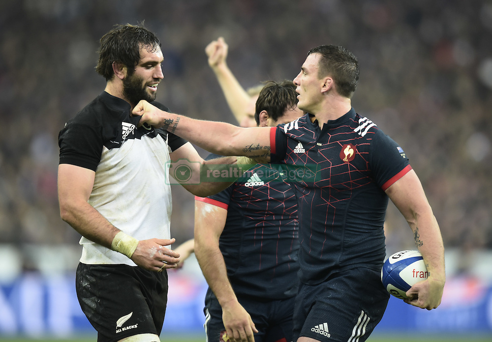 November 26, 2016 - Saint Denis, FRA - Samuel Whitelock ( All Blacks ) - Louis Picamoles  (Credit Image: © Panoramic via ZUMA Press)