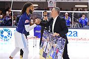 Bucchi Piero, Banks Adrian<br /> Happy Casa Brindisi - Virtus Roma<br /> Legabasket SerieA  2019-2020<br /> Brindisi 19/01/2020<br /> Foto: Ciamillo-Castoria / Michele Longo
