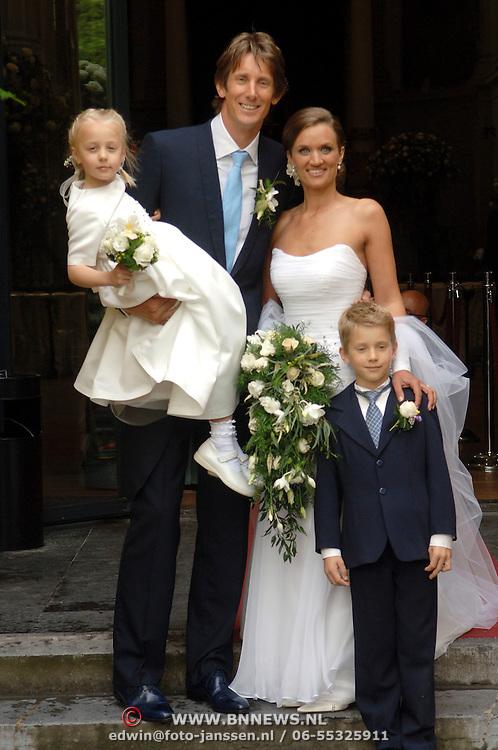 Huwelijk edwin van der sar annemarie kesteren