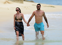 EXCLUSIVE: Southampton striker Charlie Austin spotted on the beach in Barbados. 25 May 2017 Pictured: Charlie Austin. Photo credit: 246paps/MEGA TheMegaAgency.com +1 888 505 6342