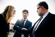 Roberto Speranza durante la festa nazionale dal Partito politico Articolo 1. Roma 19 settembre 2018. Christian Mantuano / OneShot