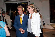 BEN FOGLE; MARINA FOGLE, Maggie's autumn fundraiser in aid of the Cancer charity. .  Phillips de Pury & Company, 9 Howick Place, London <br /> www.maggiescentres.org. 27 September 2010. <br /> <br /> -DO NOT ARCHIVE-© Copyright Photograph by Dafydd Jones. 248 Clapham Rd. London SW9 0PZ. Tel 0207 820 0771. www.dafjones.com.