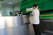 Europcar car hire office, City of Almeria, Spain