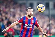 Crystal Palace #18 James McArthur during the Premier League match between Crystal Palace and Everton at Selhurst Park, London, England on 18 November 2017. Photo by Sebastian Frej.