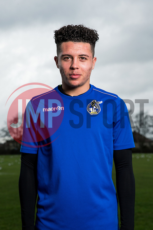 Bristol Rovers Academy Second Year Scholars - Rogan Thomson/JMP - 02/02/2017 - FOOTBALL - Golden Hill Training Centre - Bristol, England - Bristol Rovers Youth Team Portraits.