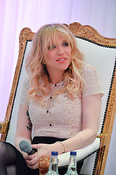 COURTNEY LOVE at the Liberatum 'Women In Creativity' Series: In Conversation With Courtney Love held at St.Martins, 45 St.Martin's Lane, London on 21st March 2016.