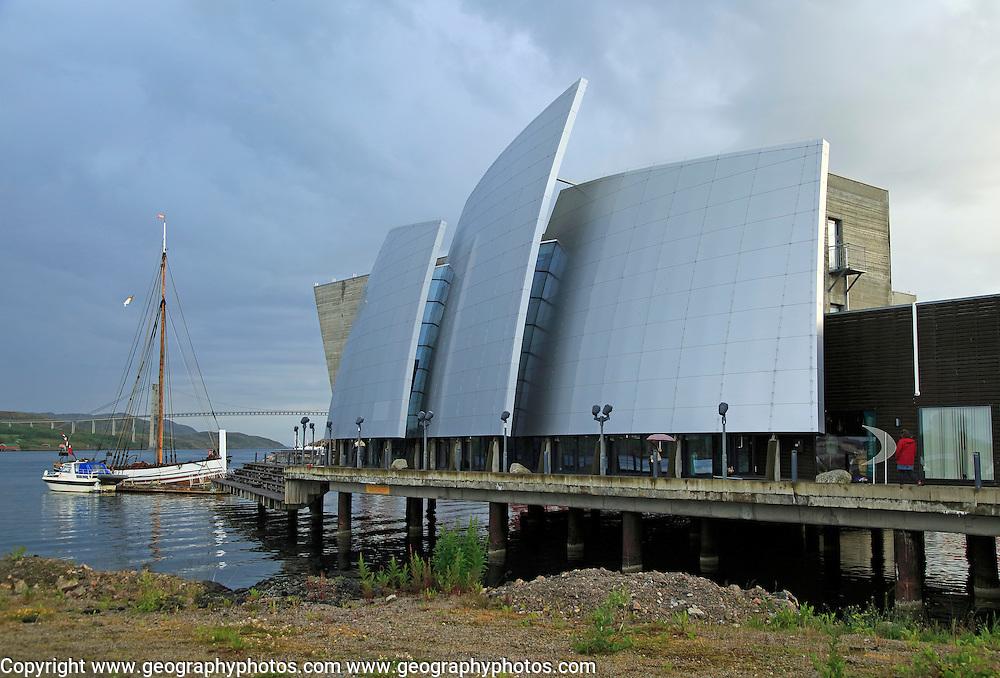 Norveg Coastal Museum in Rorvik, architect Gudmundur Jonnson, Norway built 2004