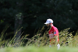 September 2, 2018 - Norton, Massachusetts, United States - Adam Hadwin walks the 5th fairway during the third round of the Dell Technologies Championship. (Credit Image: © Debby Wong/ZUMA Wire)