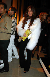 ELIZABETH SALTZMAN at a party to celebrate the first 20 years of fashion label Donna Karan held at her store at 19/20 New Bond Street, London W1 on 21st September 2004.<br /><br />NON EXCLUSIVE - WORLD RIGHTS