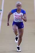Jazmine Sawyers (Great Britain), Long Jump, during the European Athletics Indoor Championships 2019 at Emirates Arena, Glasgow, United Kingdom on 2 March 2019.