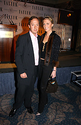 GEORDIE GREIG and LADY EMILY COMPTON at the Tatler Restaurant Awards held at The Dorchester, Park Lane, London on 22nd January 2007.<br /><br />NON EXCLUSIVE - WORLD RIGHTS