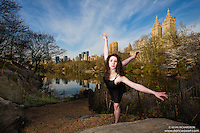 Dance As Art- the New York City Photography Project at Central Park  with dancer Shannon Hartle