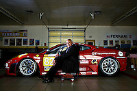 Giuseppe Risi, president of Risi Competizione, sits next to a Ferrari 430 GT raced in the 2008 and 2009 season May 19, 2010 in Houston. According to the Risi Competizione website, it was founded in 1997, Risi Competizione is the Ferrari of Houston-based racing team, directed by Giuseppe Risi, that has been very successful in sports car racing in both Europe and the United States. In addition to racing Ferraris and Maseratis, Risi Competizione also provides competition development, management, and support services. Giuseppe Risi is the owner & managing director of the team.