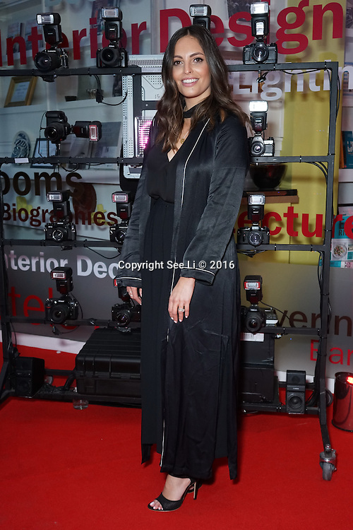London,England,UK : 25th May 2016 : Olivia Wayne attend the Marilyn Monroe: Legacy of a Legend launch at the Design Centre, Chelsea Harbour, London. Photo by See Li