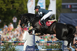 Delestre Simon, (FRA), Qlassic Bois Margot<br /> Longines Global Champions Tour - Grand Prix of Hamburg<br /> Hamburg - Hamburger Derby 2016<br /> © Hippo Foto - Stefan Lafrentz