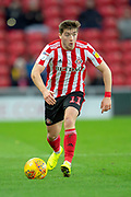 Lynden Gooch (#11) of Sunderland AFC during the EFL Sky Bet League 1 match between Sunderland AFC and Luton Town at the Stadium Of Light, Sunderland, England on 12 January 2019.