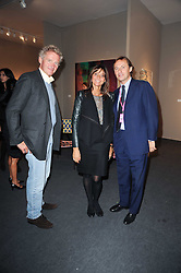 Private View of the Pavilion of Art & Design London 2010 held in Berkeley Square, London on 11th October 2010.<br /> Picture Shows:-Left to right, COUNT LEOPOLD VON BISMARCK, COUNTESS DEBONAIRE VON BISMARCK and GERARD FAGGIONATO.