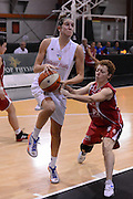 DESCRIZIONE : Roma Basket Campionato Italiano Femminile serie B 2012-2013<br />  College Italia  Gruppo L.P.A. Ariano Irpino<br /> GIOCATORE : Elisa Chiabotto<br /> CATEGORIA : palleggio penetrazione<br /> SQUADRA : College Italia<br /> EVENTO : College Italia 2012-2013<br /> GARA : College Italia  Gruppo L.P.A. Ariano Irpino<br /> DATA : 03/11/2012<br /> CATEGORIA : palleggio<br /> SPORT : Pallacanestro <br /> AUTORE : Agenzia Ciamillo-Castoria/GiulioCiamillo<br /> Galleria : Fip Nazionali 2012<br /> Fotonotizia : Roma Basket Campionato Italiano Femminile serie B 2012-2013<br />  College Italia  Gruppo L.P.A. Ariano Irpino<br /> Predefinita :