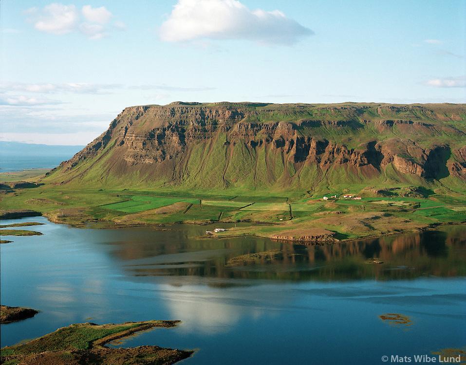 Hnukur, Dalabyggð áður Fellsstrandarhreppur áður Klofningshreppur  / Hnukur, Dalabyggd former Fellsstrandarhreppur former Klofningshreppur.