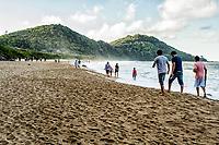 Praia do Buraco. Balneário Camboriú, Santa Catarina, Brasil. / Buraco Beach. Balneario Camboriu, Santa Catarina, Brazil.