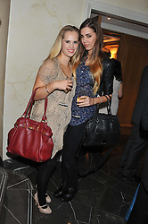 Left to right, ALICE CAMPBELL and AMBER LE BON at The Great Initiative event in association with jewellers Boodles held at The Corinthia Hotel, London on 6th November 2012.