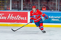 KELOWNA, BC - FEBRUARY 06:  Riley Woods #13 of the Spokane Chiefs warms up against the Kelowna Rockets at Prospera Place on February 6, 2019 in Kelowna, Canada. (Photo by Marissa Baecker/Getty Images)