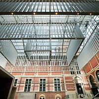 Nederland, Amsterdam , 29 maart 2013..De gerenoveerde hal Atrium van het Rijksmuseum..Foto:Jean-Pierre Jans
