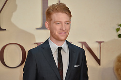 © Licensed to London News Pictures. 20/09/2017. London, UK. DOMHNALL GLEESON attends the world film premiere of Goodbye Christopher Robin in Leicester Square. Photo credit: Ray Tang/LNP