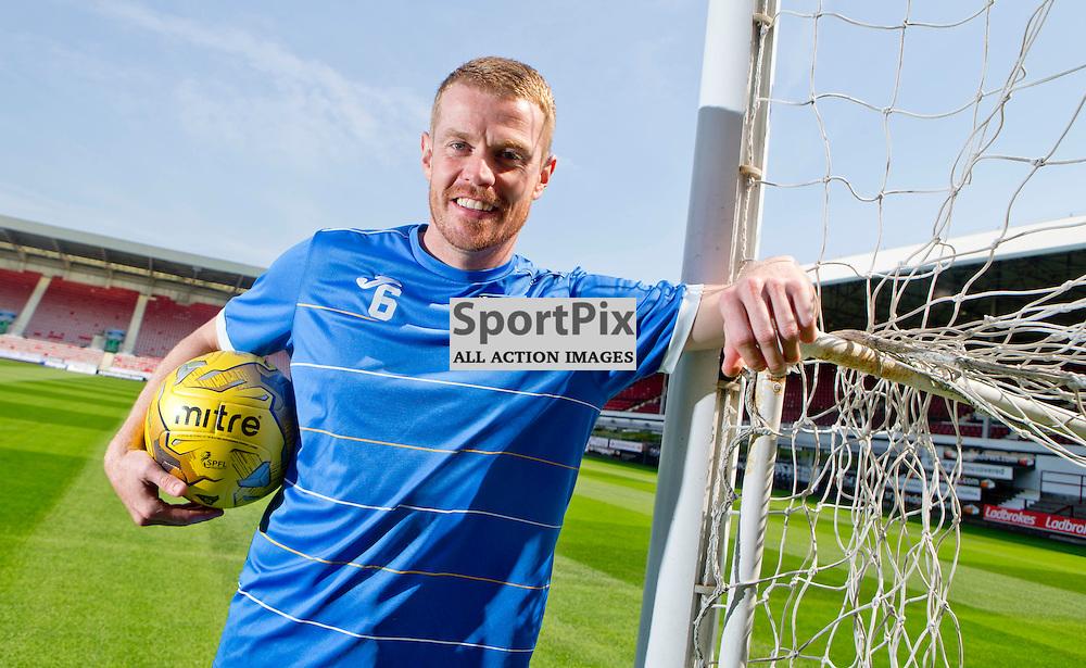 DAFC Presser East End Park 13 August 2015<br /> Andy Geggan<br /> (c) CRAIG BROWN | SportPix.org.uk