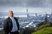 Politician Rodney Hide and his special project: Supercitying Auckland.