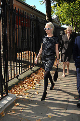 The HON.SOPHIA HESKETH at the memorial service of Isabella Blow held at the Guards Chapel, London W1 on 18th September 2007.<br />