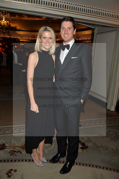 JAKE & ZOE WARREN at the 26th Cartier Racing Awards held at The Dorchester, Park Lane, London on 8th November 2016.