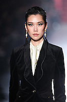Tao Okamoto walks down runway for F2012 Jason Wu's collection in Mercedes Benz fashion week in New York on Feb 10, 2012 NYC