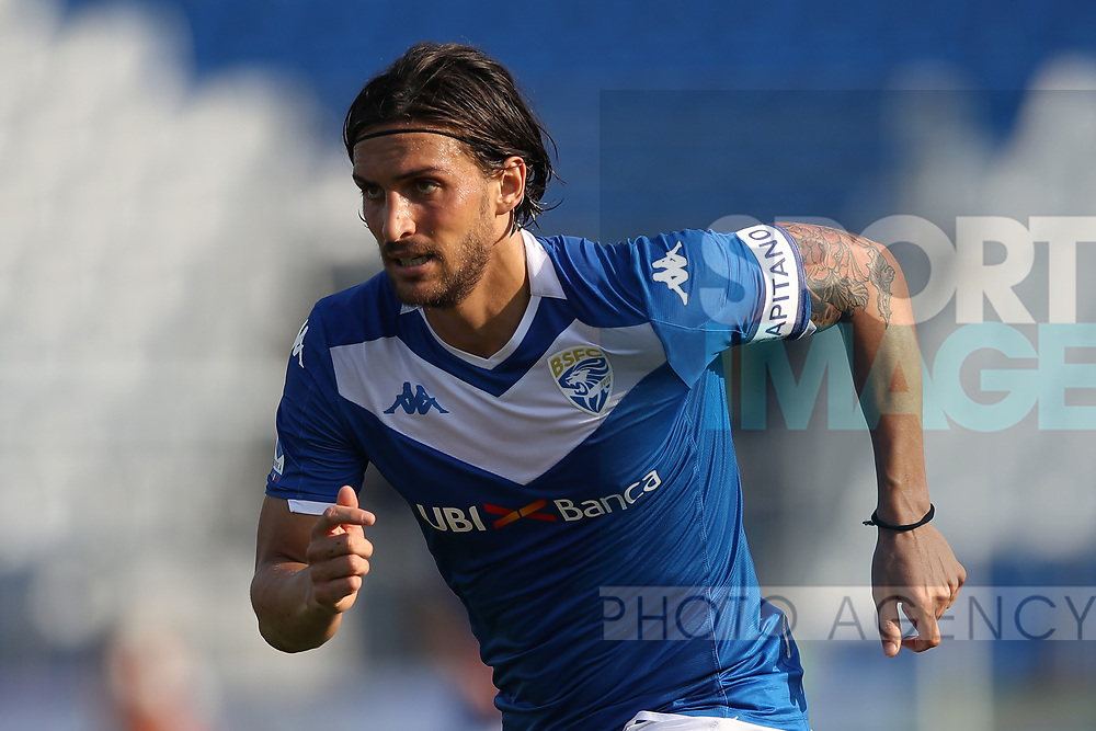 Brescia Calcio's Italian striker Ernesto Torregrossa during the Serie A match at Stadio Mario Rigamonti, Brescia. Picture date: 27th June 2020. Picture credit should read: Jonathan Moscrop/Sportimage