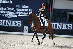 Hogberg Jeanna, SWE, Astoria<br /> Longines FEI/WBFSH World Breeding Dressage Championships for Young Horses - Ermelo 2017<br /> © Hippo Foto - Dirk Caremans<br /> 04/08/2017