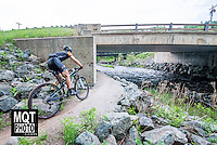 Cross country bicycle race at the 2014 Marquette Trails Festival at Marquette Mountain Ski Area in Marquette, Michigan.  The event showcases the trails of the Noquemanon Trail Network.